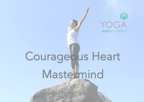 Product Courageous Heart yoga soul 1