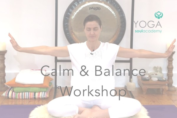 Product Workshop calm and balance head yoga soul product